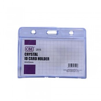 CBE 2515 Crystal ID Card Holder - 90 x 55mm