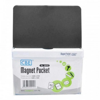 CBE Magnet Pocket 22215 A5 - Black (Item No: B10-186B) A1R3B131