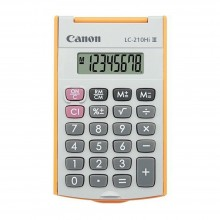 Canon LC-210Hi-OR 8 Digits Pocket Calculator with Cover Orange