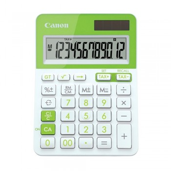 Canon LS-123T-GR 12 Digits Desktop Calculator (Green)