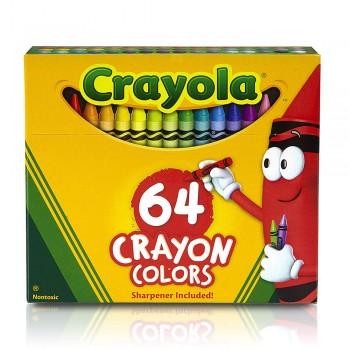 Crayola 64ct Crayons Non Toxic - 520064