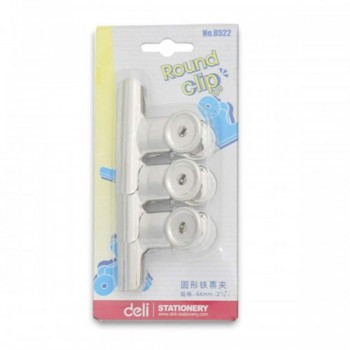 Deli Round Clip 8522 64mm (Item No: A19-03)