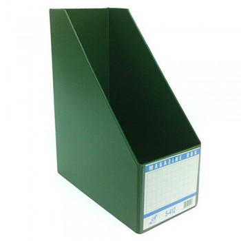 "EAST FILE PVC MAGAZINE BOX 412 3"" GR (Item No: B11-94 GR)"