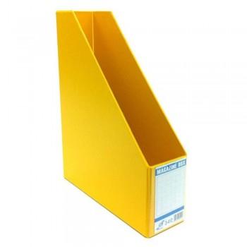 """East-File PVC Magazine Box Filing Case — 3"""" (Item No: B11-94 YL) A1R5B83"""