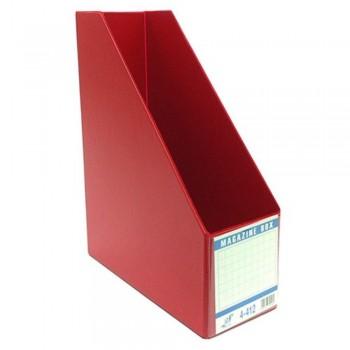 """East-File PVC Magazine Box Filing Case — 4"""" (Item No:B11-95 RD) A1R5B84"""