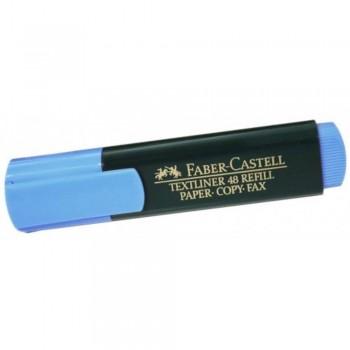 Faber Castell TEXTLINER 48 Highlighter - BLUE (Item No: A13-02 FC48BL) A1R3B67