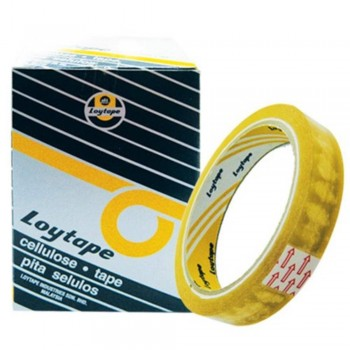 Loytape Cellulose Tape - 18mm x 40m