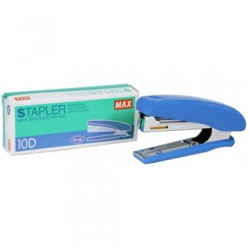 MAX HD-10D Manual Stapler - 20 sheets Capacity - BLUE (Item No: B07-11 HD10D BL) A1R2B243