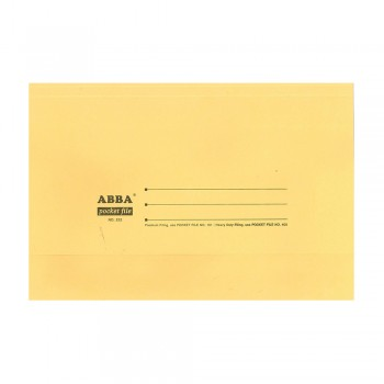 Colour Pocket File 230gsm Buffalo