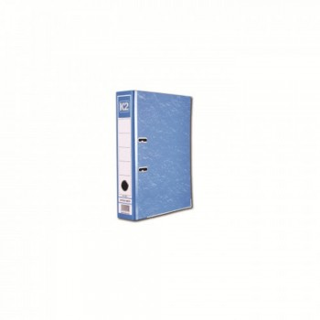 "K2 8997 Fancy Hard Cover Arch File (Blue) - 3"", 1 pcs"