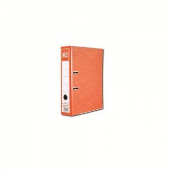 """K2 8997 Fancy Hard Cover Arch File (Fancy Orange) - 3"""", 1 pcs"""