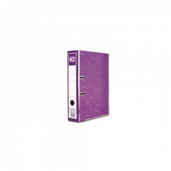"""K2 8997 Fancy Hard Cover Arch File (Fancy Purple) - 3"""", 1 pcs"""