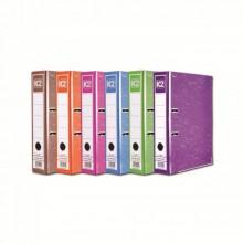 """K2 8997 Fancy Hard Cover Arch File (Mix Colour) - 3"""", 1 pcs"""