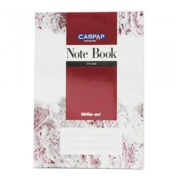 Campap Cw2306 A4 2Pvc Cover Note Book 200P (Item No: C02-06) A1R4B120