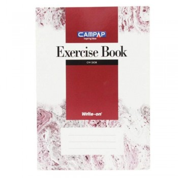 Campap Cw2508 A4 Exercise Book 160P (Item No: C02-15) A1R4B126