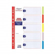 Finepap Plastic Index Divider 5 Tabs (S6207)