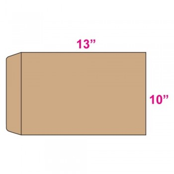 Brown Envelope - Manila - 10-inch x 13-inch