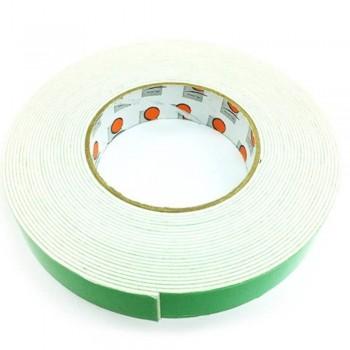 Foam Tape - 24mm x 10m, 3mm thick, White (Item No: B02-10 DSF24X10W) B02-10 DSF24X10