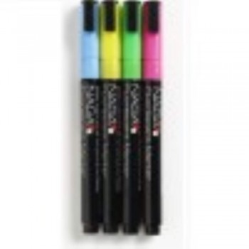 NAGA Fluorescent Marker - 10mm  4Clr (Item No: G14-09)