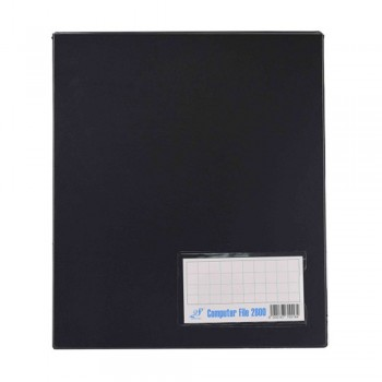 PVC Computer File A3 - Black (Item No: C01-19BK) A1R5B14