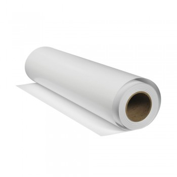 Economic Matte White Vinyl Sticker (1.27m x 50m)