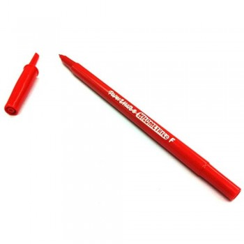 Papermate Kilometrico Ball Point Pen - 0.8mm RED (Item No: A04-01 KLFRD) A1R1B36