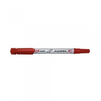 Pilot SCA-TMCD -CD/DVD Marker Pen 2 & 0.8mm - Red