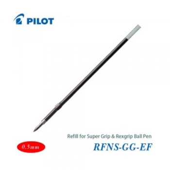 Pilot Super Grip Rexgrip Ball Pen Refill 0.5 Red (RFNS-GG-EF-R)