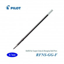 Pilot Super Grip Rexgrip Ball Pen Refill 0.7 Blue (RFNS-GG-F-L)
