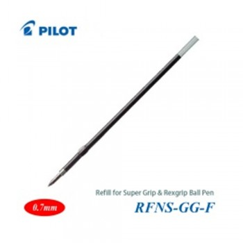 Pilot Super Grip Rexgrip Ball Pen Refill 0.7 Red (RFNS-GG-F-R)