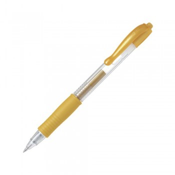 Pilot G2 Gel Ink Pen 0.7mm Metallic Gold (BL-G2-7-GD)