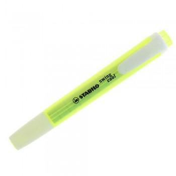 STABILO Swing Cool Highlighter Pen - 275/24 YELLOW (Item No: A14-02 SSWINGYL) A1R3B56