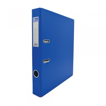 EMI PVC 50mm Lever Arch File A4 - Sea Blue