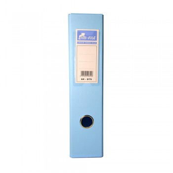 EMI PVC 75mm Lever Arch File A4 - Fancy Blue