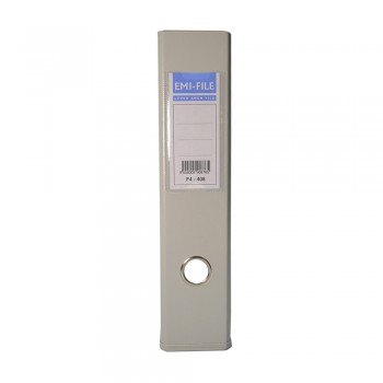 EMI PVC 75mm Lever Arch File A4 - Grey