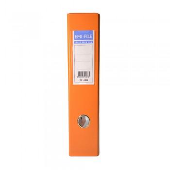EMI PVC 75mm Lever Arch File A4 - Orange
