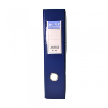 EMI PVC 75mm Lever Arch File F4 - Dark Blue