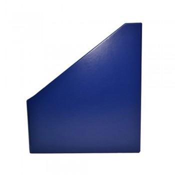 "5"" PVC Magazine Box File - Dark Blue"