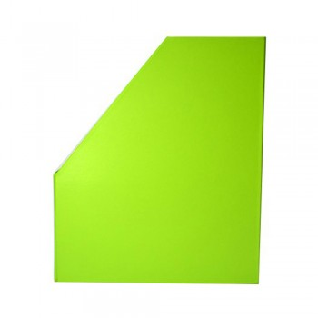 "5"" PVC Magazine Box File - Fancy Green"