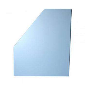"""6"""" PVC Magazine Box File - Fancy Blue"""