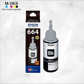 Ink Cartridge Epson T664100 70ml ink bottle Black