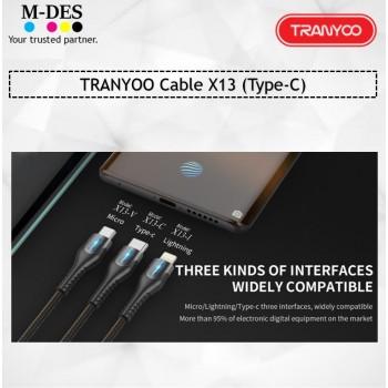 TRANYOO Cable X13 (Type-C)