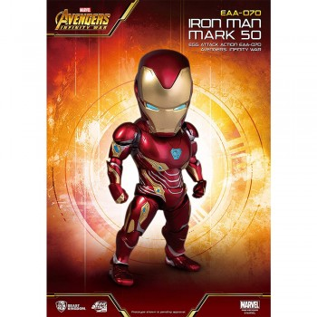 Beast Kingdom Marvel Avengers Infinity War: Iron Man MK50 Deluxe Version (EAA-070)