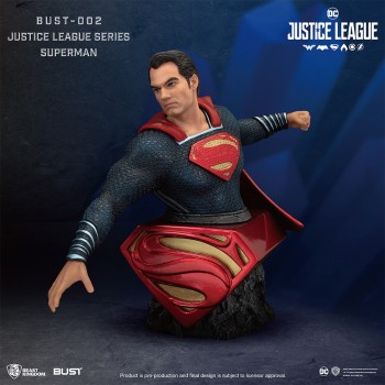 BUST SERIES-Justice League-002-SUPERMAN