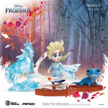 [6-in-1 BUNDLED PACK] Beast-Kingdom MEA-014 Frozen 2 Series Mini Egg Attack Toy Figures Statue - Elsa, Anna, Olaf, Sven, Nokk, Salamander