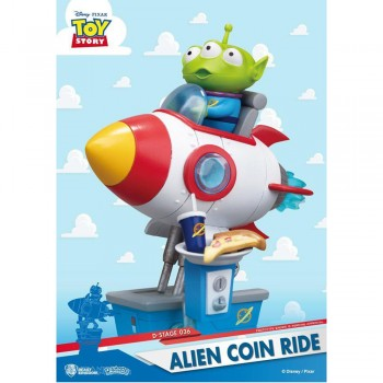 Alien Coin Ride Statue (DS-036)