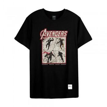 Avengers: Endgame Series Avengers Team Tee (Black, Size XL)