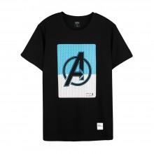 Avengers: Endgame Series Half Square A Tee (Black, Size M)