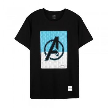Avengers: Endgame Series Half Square A Tee (Black, Size L)