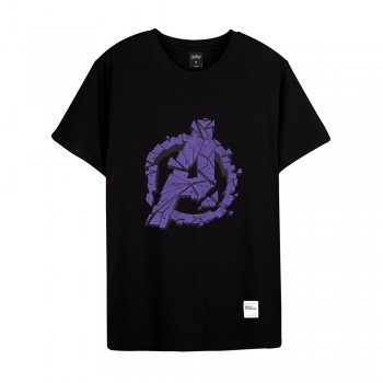 Avengers: Endgame Series Logo Tee (Black, Size M)